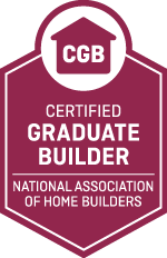 Certified Graduate Builder: Experienced builders can be even better with the Certified Graduate Builder (CGB) educational designation. You'll sharpen your business management skills and better understand today's home building industry. CGB courses focus on effective management in the office and on the job site, examine all stages of new home construction and cover topics such as scheduling, estimating, job cost procedures, accounting principles and basic contract law.