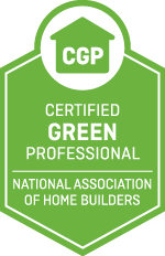 Certified Green Professional: The Certified Green Professional™ designation recognizes builders, remodelers and other industry professionals who incorporate green and sustainable building principles into homes — without driving up the cost of construction. The required courses provide a solid background in green building methods, as well as the tools to reach consumers, from the organization leading the charge to provide market-driven green building solutions to the home building industry.