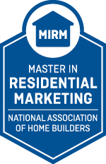 Master in Residential Marketing (MIRM): The Master in Residential Marketing (MIRM) represents the pinnacle of new home sales education because it represents years of industry experience, serious coursework requirements and a one-of-a-kind requirement for a successful case study to complete the designation.