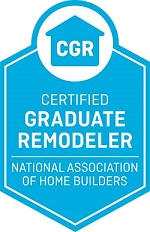 Certified Graduate Remodeler: Remodelers with at least five years of experience in the industry can apply for the Certified Graduate Remodeler (CGR) educational designation. Courses in the CGR curriculum are designed to emphasize business and project management skills as the key to a successful remodeling operation.